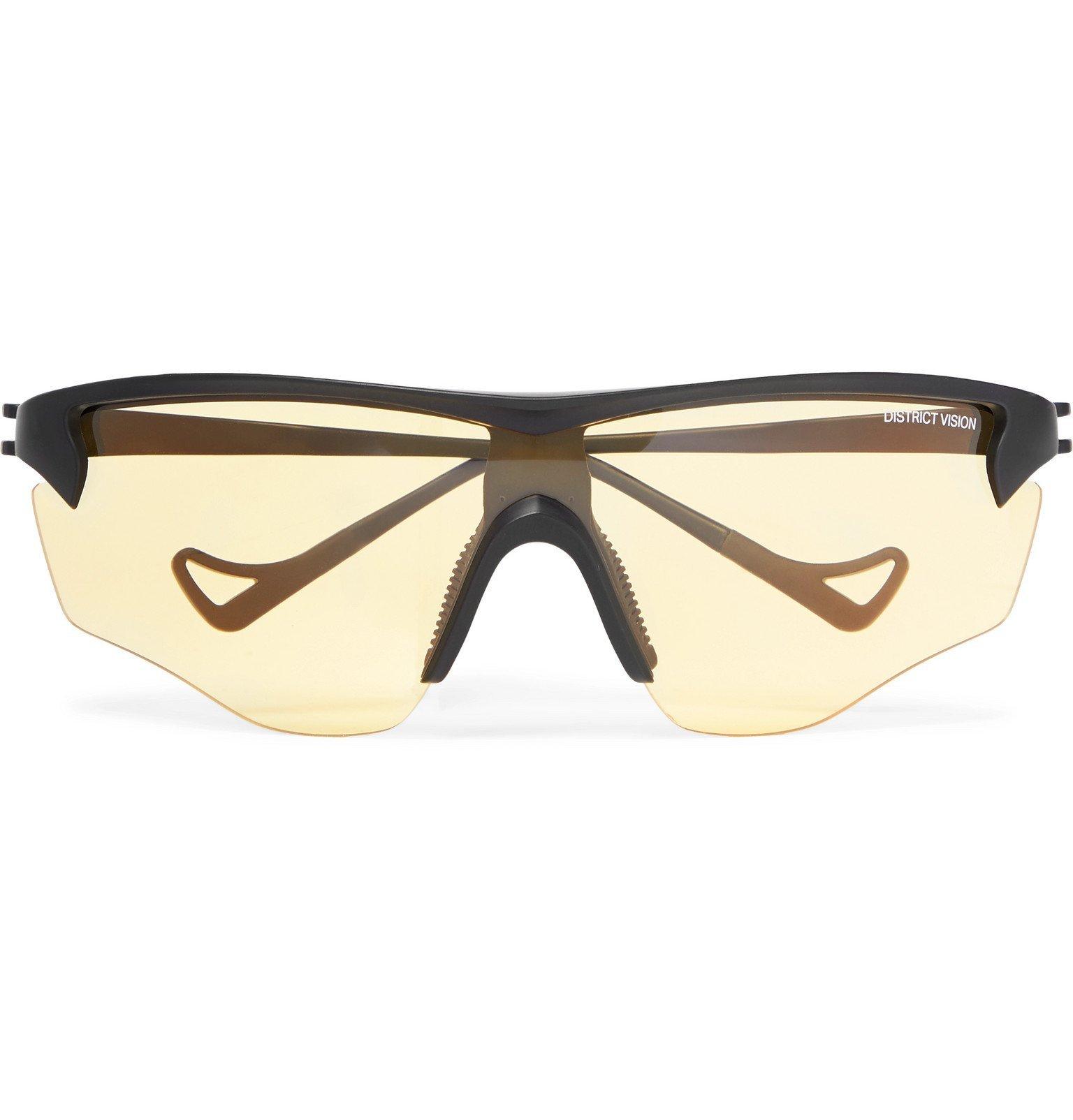 Photo: DISTRICT VISION - Junya Acetate Polarised Sunglasses - Black