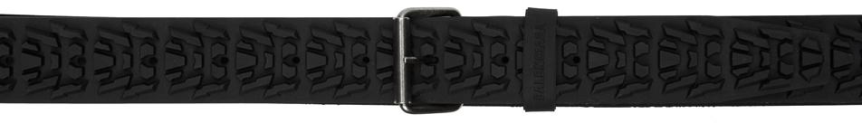 Photo: Balenciaga Black Tyre Belt