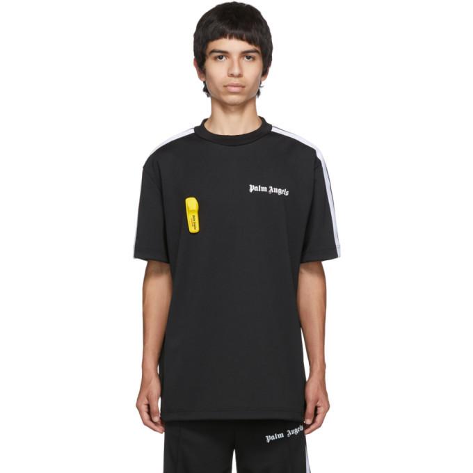 Palm Angels Black New Basic T-Shirt