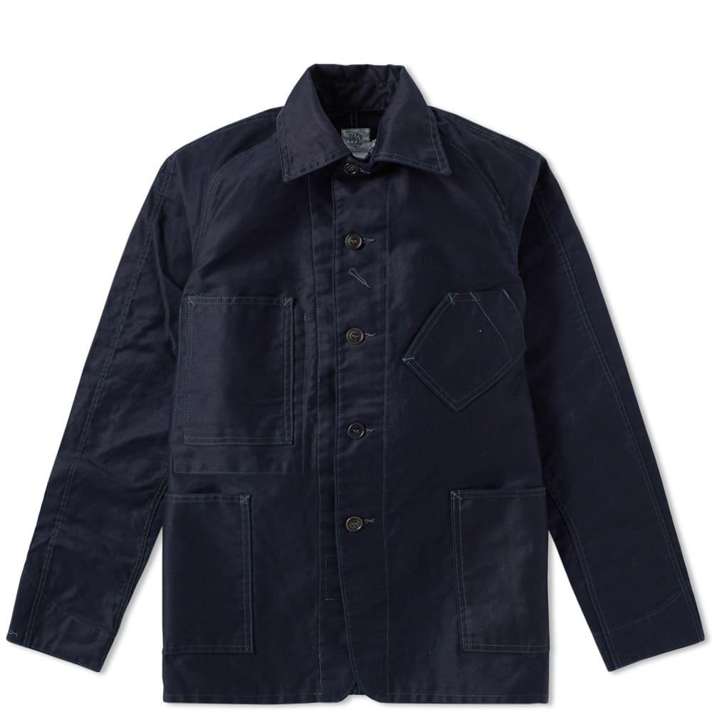 Photo: Post Overalls Sweetbear Jacket Blue