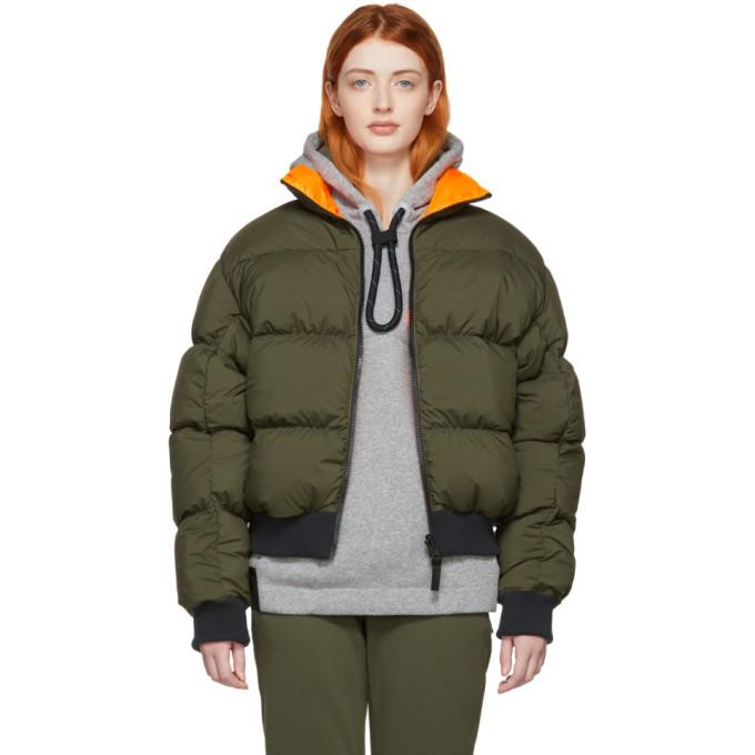 424d4fae8a NikeLab Reversible Khaki and Orange Down NRG Puffer Jacket NikeLab