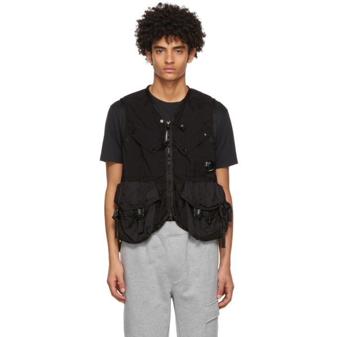 Photo: C.P. Company Black Taylon P Vest