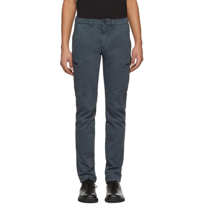 Belstaff Blue Larsson Cargo Pants