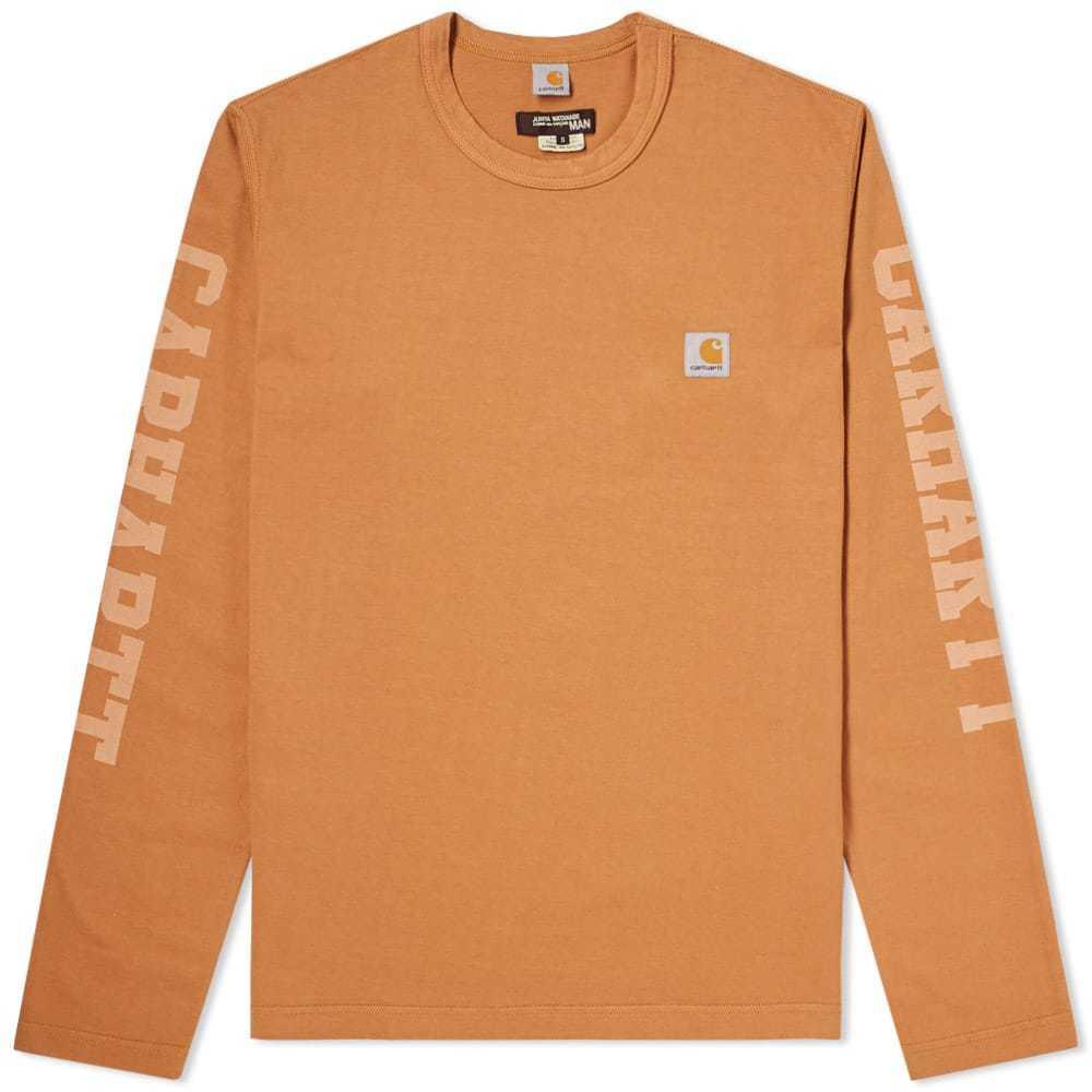 Photo: Junya Watanabe MAN x Carhartt Long Sleeve Tee Orange