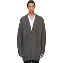 3.1 Phillip Lim Multicolor Brushed Wool Plaid Cardigan