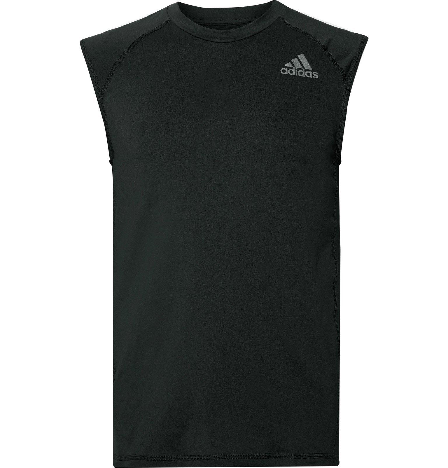 Photo: Adidas Sport - Alphaskin Sport Climalite Tank Top - Black