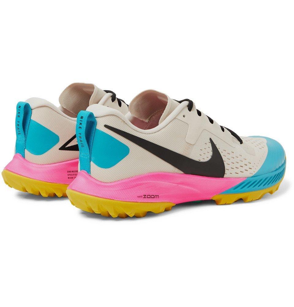 Nike Running - Air Zoom Terra Kiger 5 Flymesh Running Sneakers - Multi