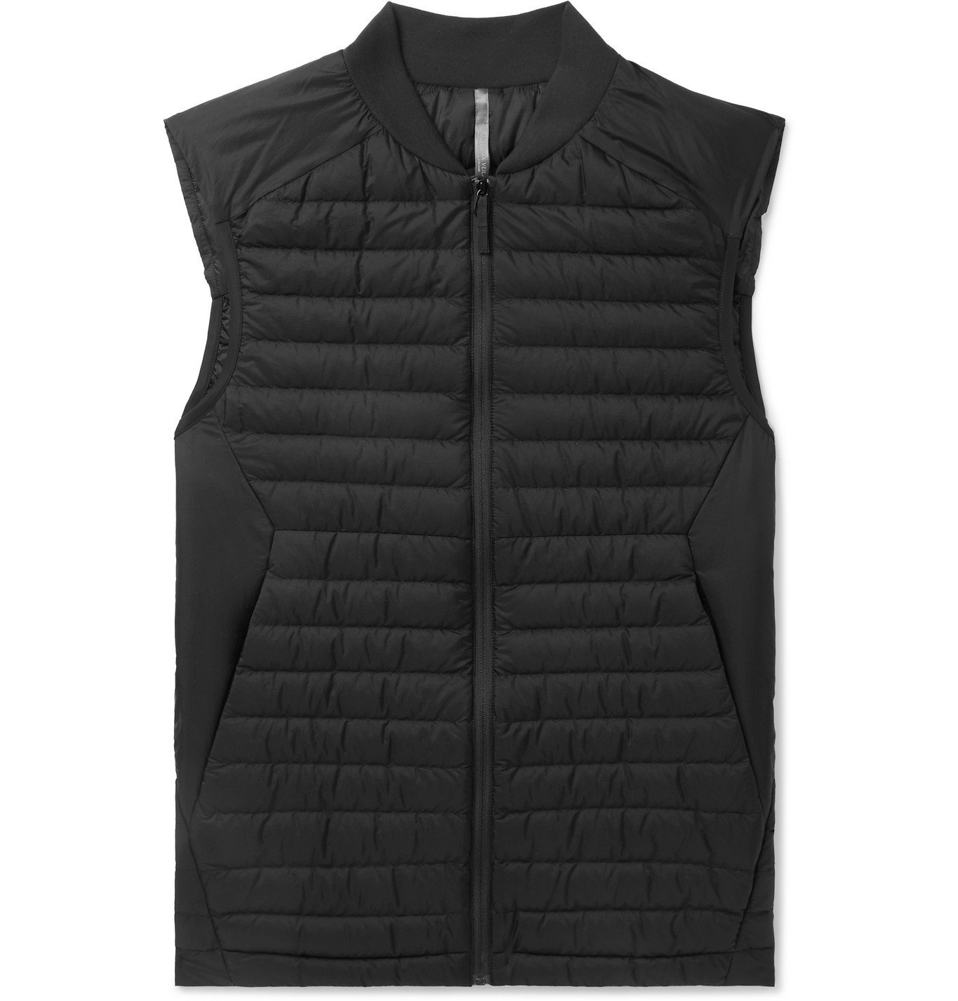 Photo: Veilance - Conduit Slim-Fit Quilted Ripstop Down Gilet - Black