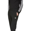 adidas Originals Black Trefoil Lounge Pants