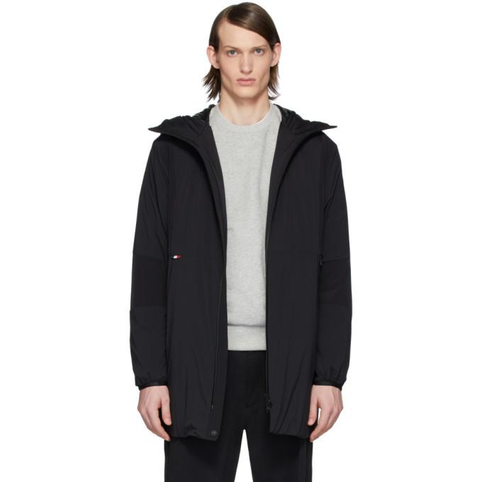 Photo: Moncler Black Down Kanin Coat