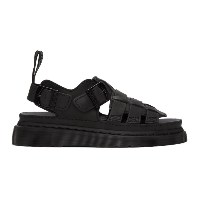Photo: Dr. Martens Black Temperley 8092 Sandals