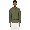 3.1 Phillip Lim Green Shirttail Bomber Jacket