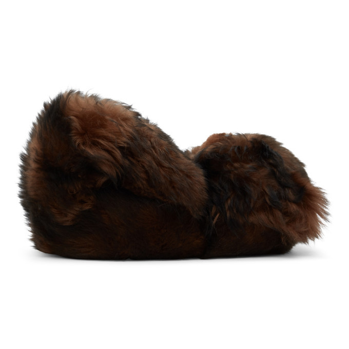 Photo: VETEMENTS Brown Hug Me Bear Slippers