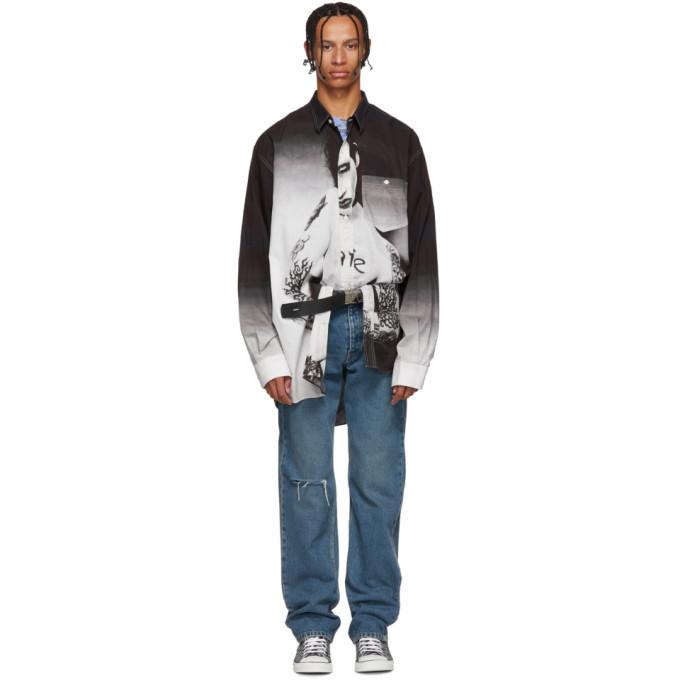 Photo: Vetements Black Marilyn Manson Shirt