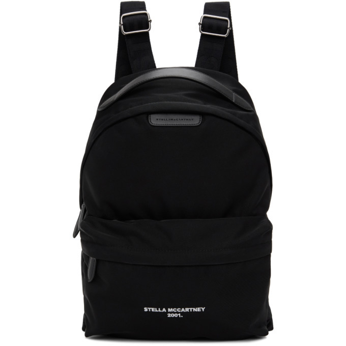 Photo: Stella McCartney Black Eco Nylon 2001 Backpack