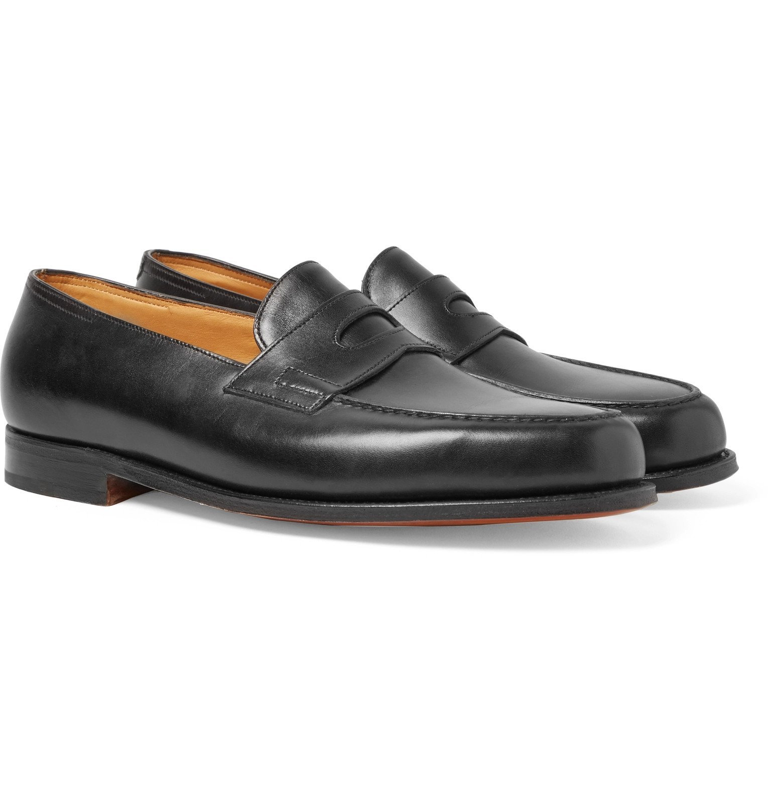Photo: John Lobb - Lopez Leather Penny Loafers - Black