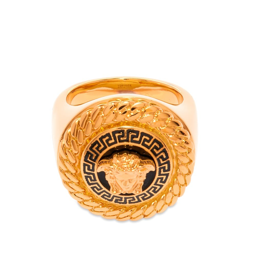 Versace Medusa Raised Head Ring
