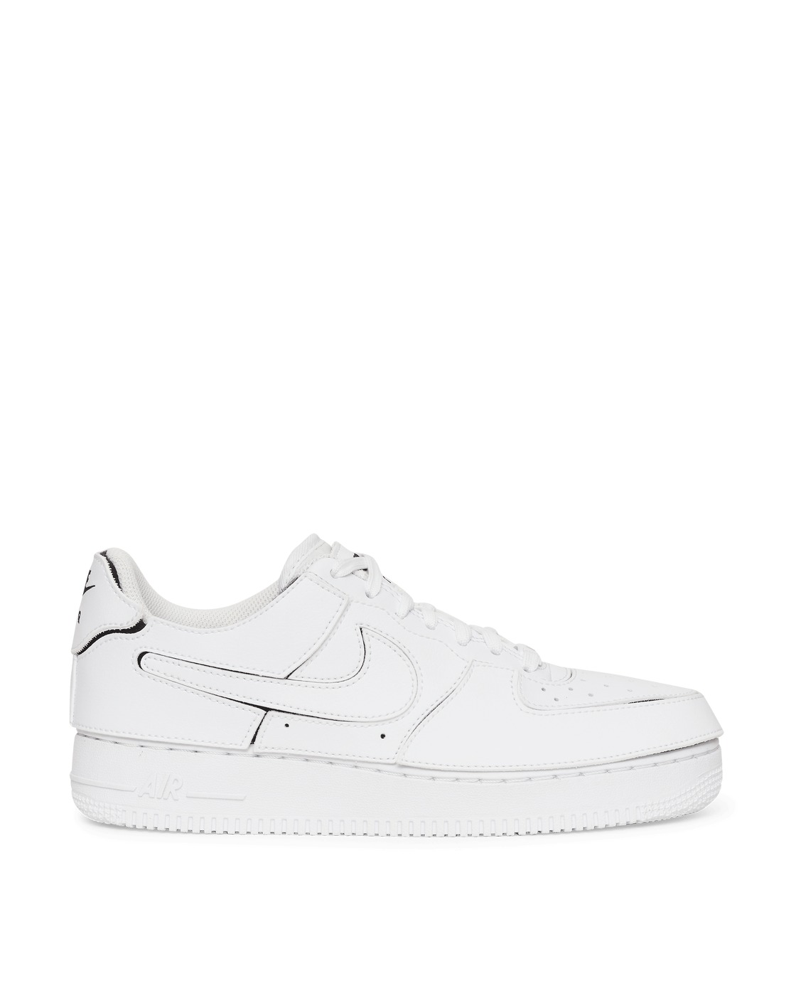 Photo: Nike Air Force 1 1 Cosmic Clay Sneakers White/White