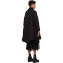 Sacai Black Cotton and Nylon Oxford Coat