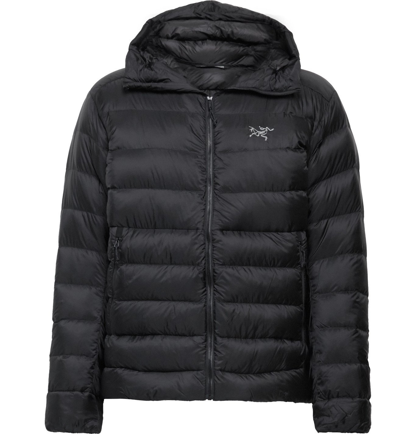 Photo: Arc'teryx - Cerium SV Quilted Arato 10 Hooded Down Jacket - Black