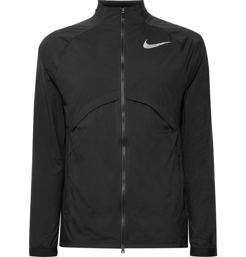 Nike Running - Shield Packable Shell Jacket - Men - Black