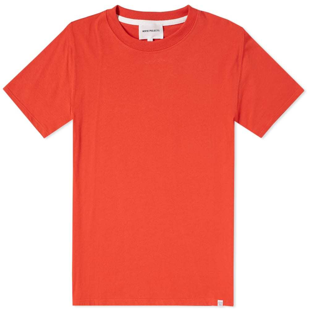 Photo: Norse Projects Niels Standard Tee Red