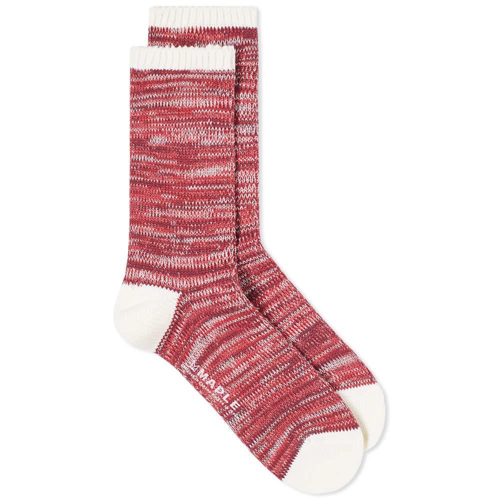 Photo: Maple Hikisoroe Melange Sock