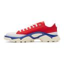 Raf Simons Red adidas Originals Edition Detroit Runner Sneakers