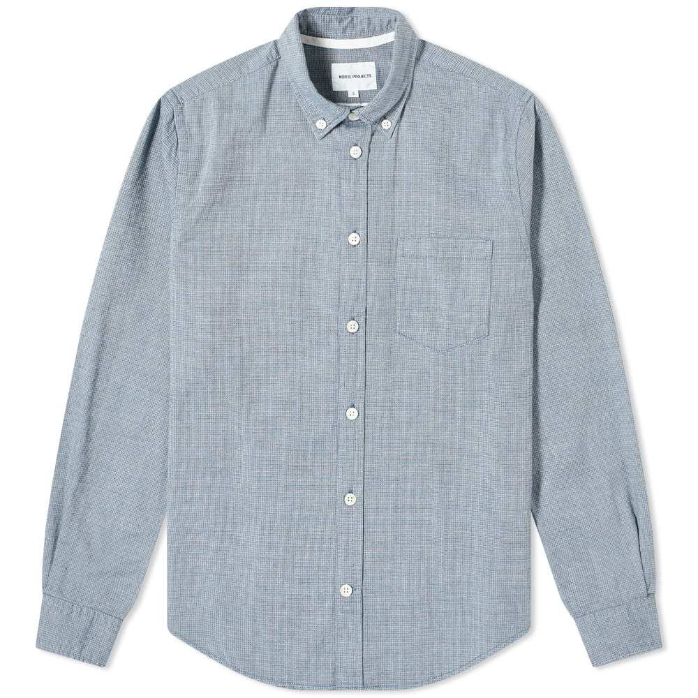 Photo: Norse Projects Osvald Waffle Button Down Shirt
