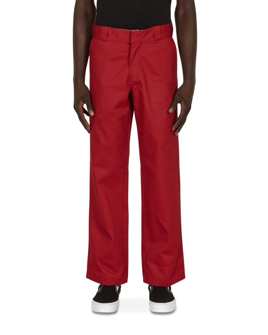 Photo: Dickies 874 Work Pants Biking Red W28