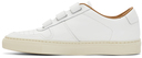 Common Projects White Velcro Bball '90 Low Sneakers