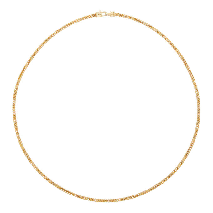 Photo: Tom Wood Gold Curb Chain M Necklace