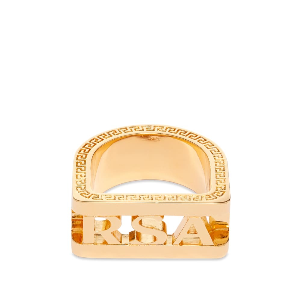 Photo: Versace Cutout Ring