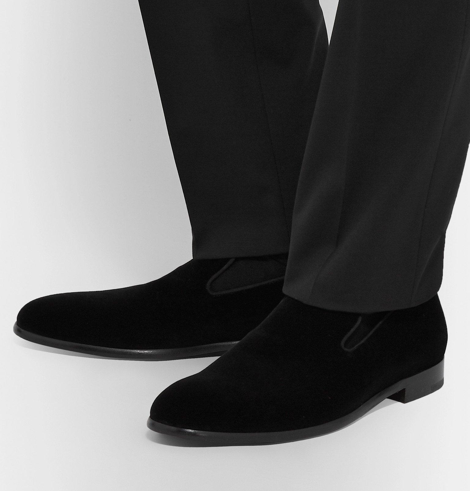 Dolce & Gabbana - Velvet Loafers - Black