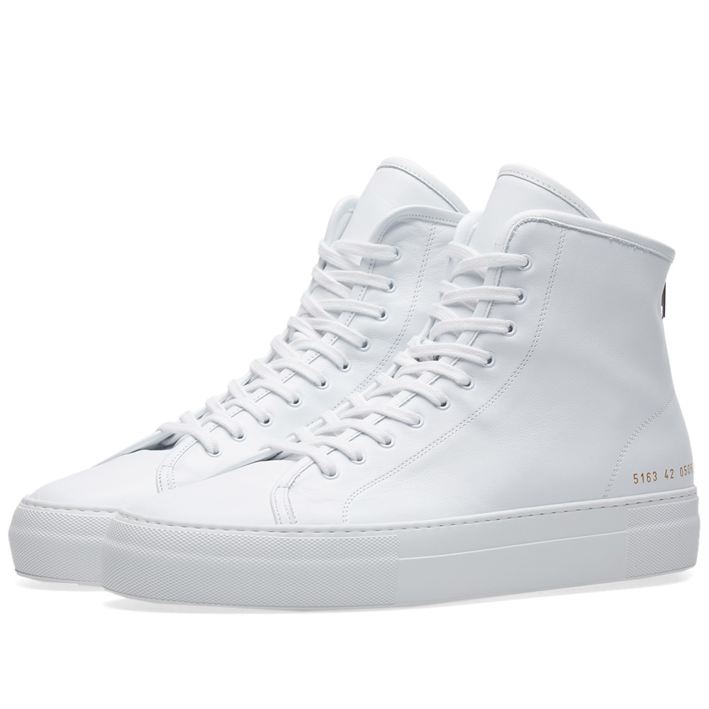 Common Projects Tournament High Zip Super Leather