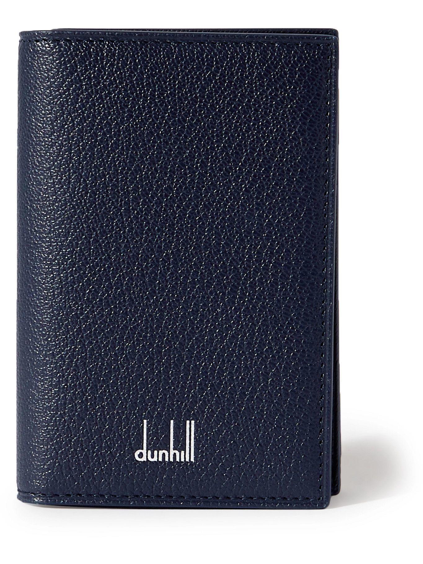 DUNHILL - Full-Grain Leather Bifold Cardholder