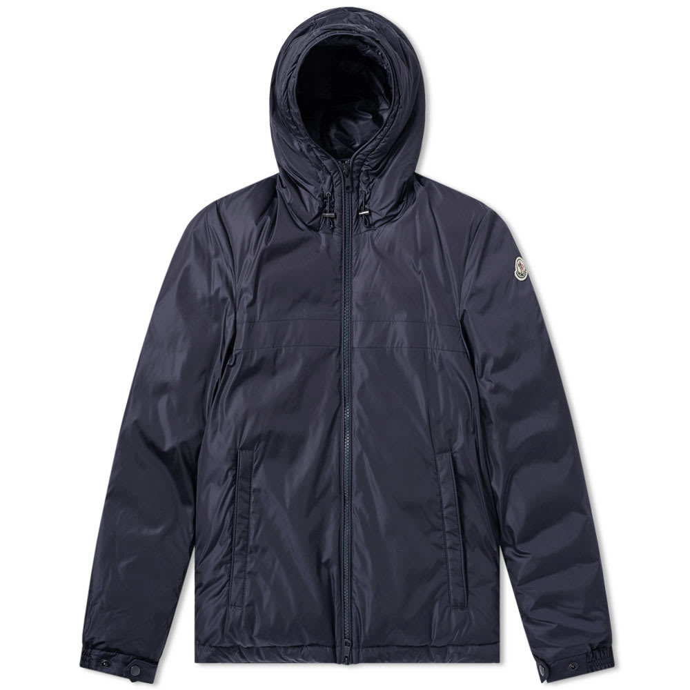 Photo: Moncler Montverneir Logo Hooded Light Down Jacket