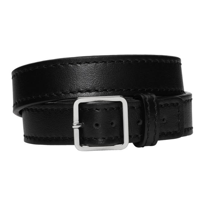 Photo: Maison Margiela Black Wrap Bracelet