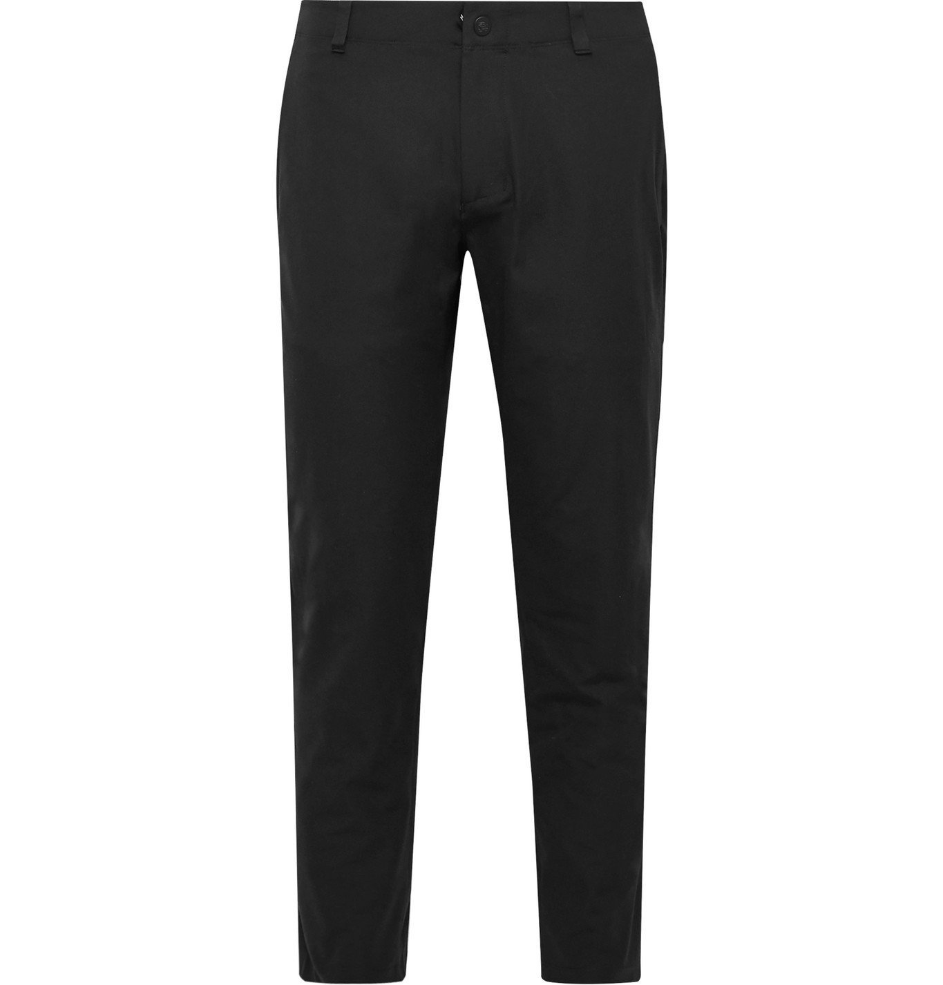 Photo: Reigning Champ - Coach's Slim-Fit Tapered Primeflex Trousers - Black