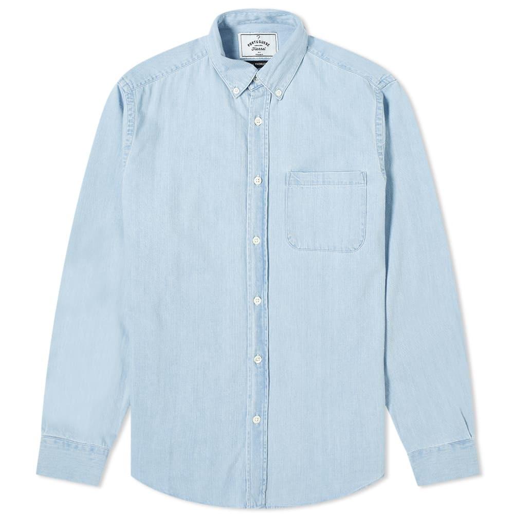 Photo: Portuguese Flannel Ganga 3W Button Down Shirt