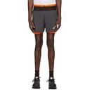 Asics Grey Fujitrail Shorts