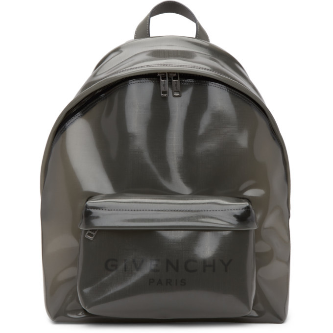 Photo: Givenchy Transparent Grey PVC Backpack
