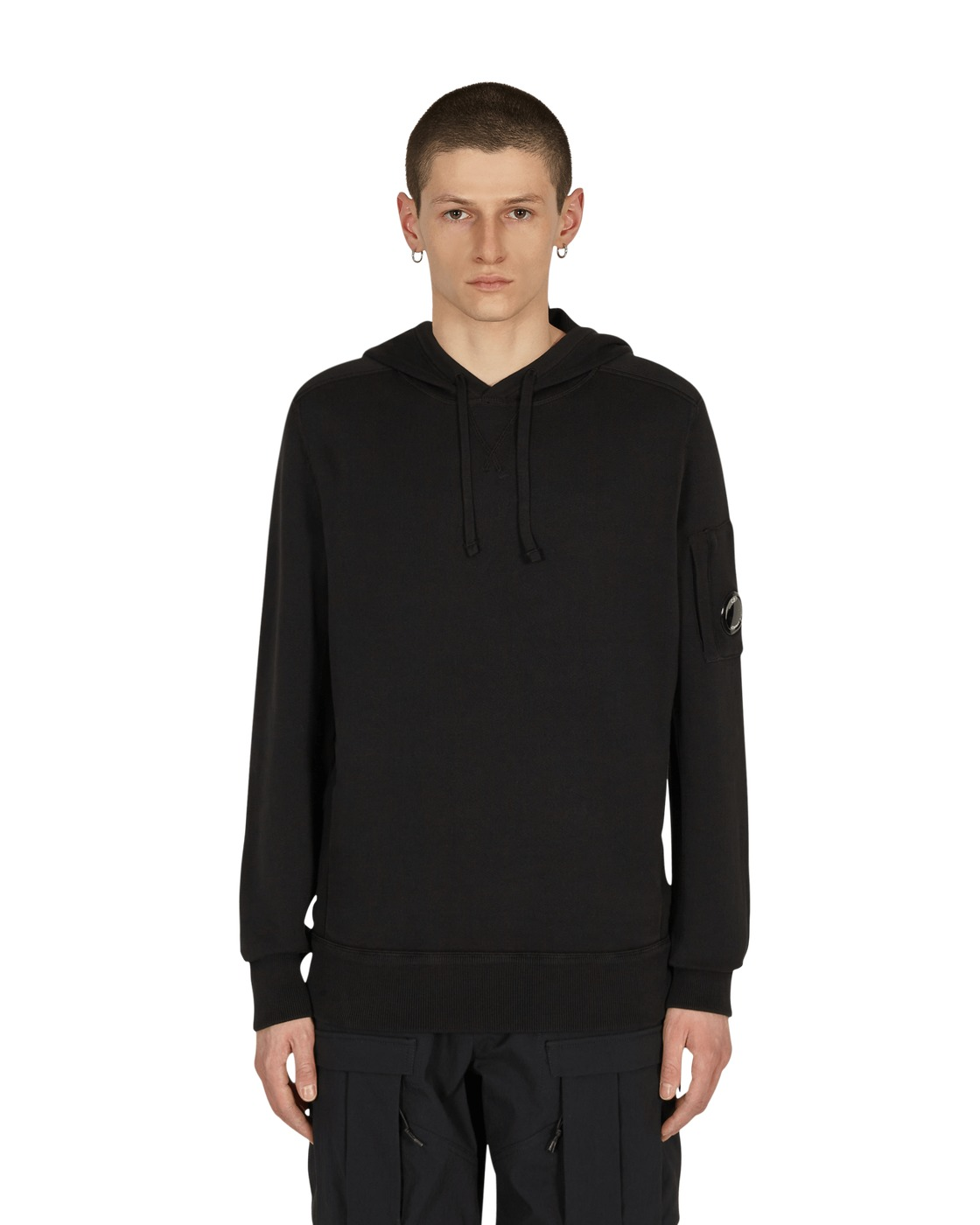 Photo: C.P. Company Hooded Sweatshirt Black
