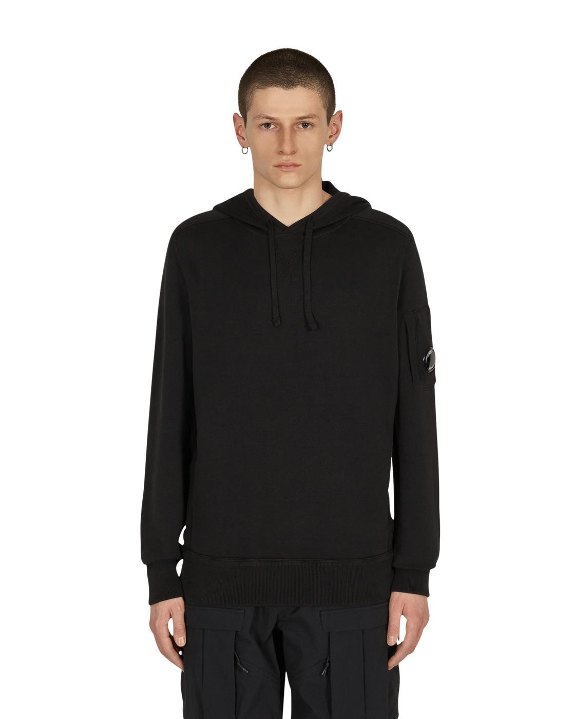 C.P. Company Hooded Sweatshirt Black