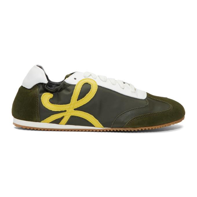 Photo: Loewe Green Ballet Runner Sneakers