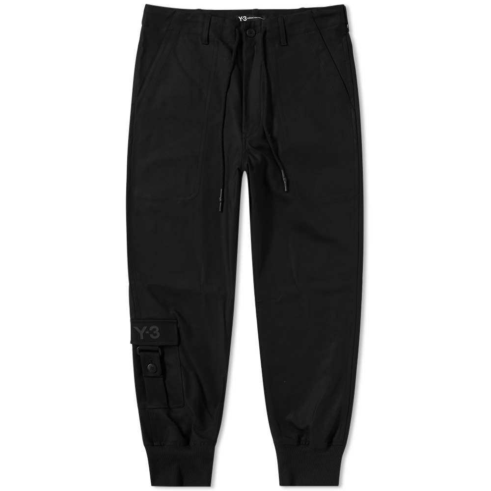 Y-3 Twill Ankle Pocket Pant