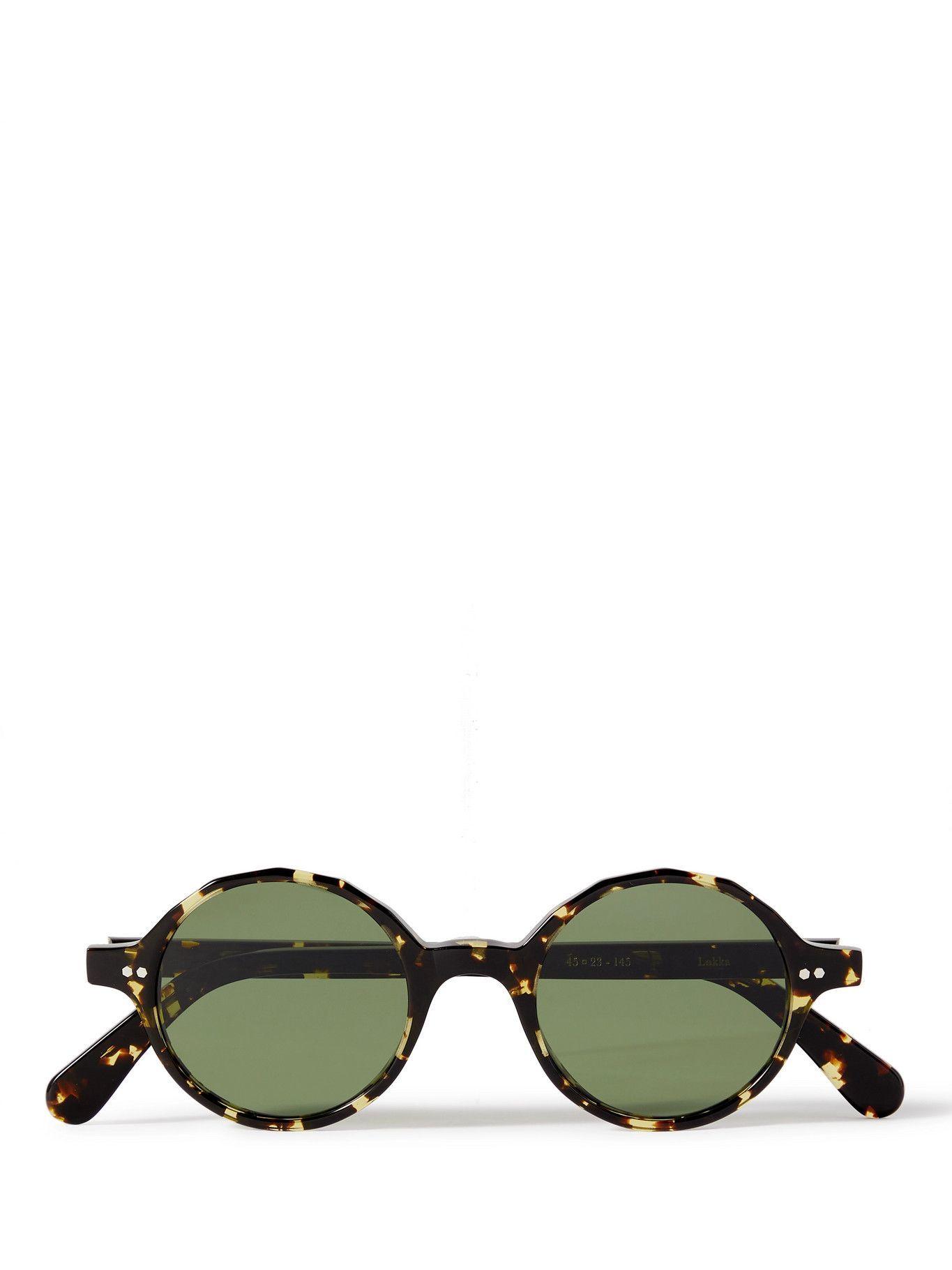 Photo: MONC - Lokka Round-Frame Bio-Acetate Sunglasses