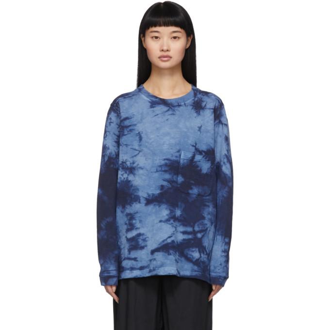 Photo: Blue Blue Japan Blue Tie-Dye Sweatshirt