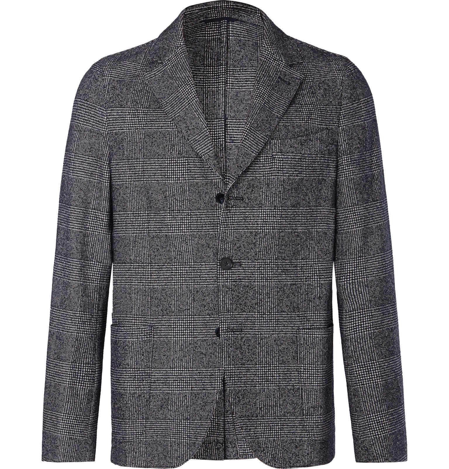 Officine Generale - Grey Arnie Prince of Wales Checked Cotton-Blend Blazer - Gray