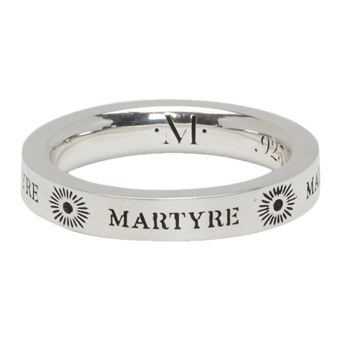 Photo: Martyre Silver Sinner Stack III Ring